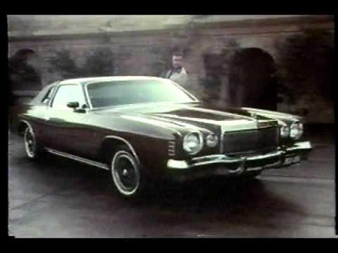 Famous Chrysler Cordoba Commercial with Ricardo Montalban!!