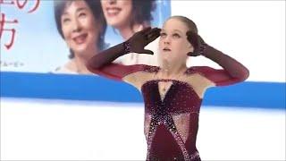 Фигуристка Александра Трусова впервые в истории сделала четыре четверных прыжка в одной программе.