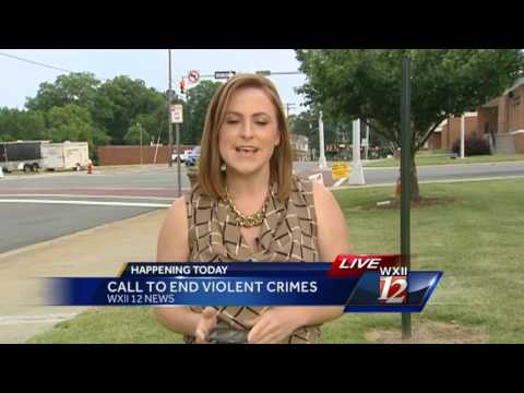 Ministers of Winston Salem calling an end to local violence