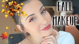 TUTO MAKEUP ♡ MAQUILLAGE D'AUTOMNE 🍁🍄