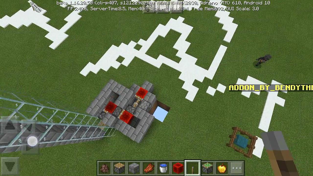 The machine d boy on Minecraft