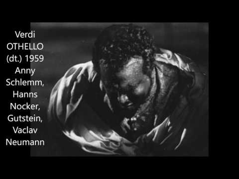 "Verdi: ""Othello"" (live, Berlin 1959, deutsch, Nocker, Schlemm)"