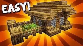 Hướng dẫn cách xây nhà cơ bản trong Minecraft Tập 1