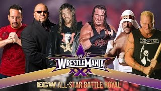 Wrestlemania XXX: ECW All-Star Elimination Chamber / Cage Of Death