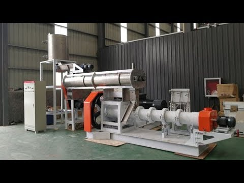 Extruder Machine DSP200 Can Produce Fish Feed & Pet Food    Email: Toppelletmachine@gmail.com