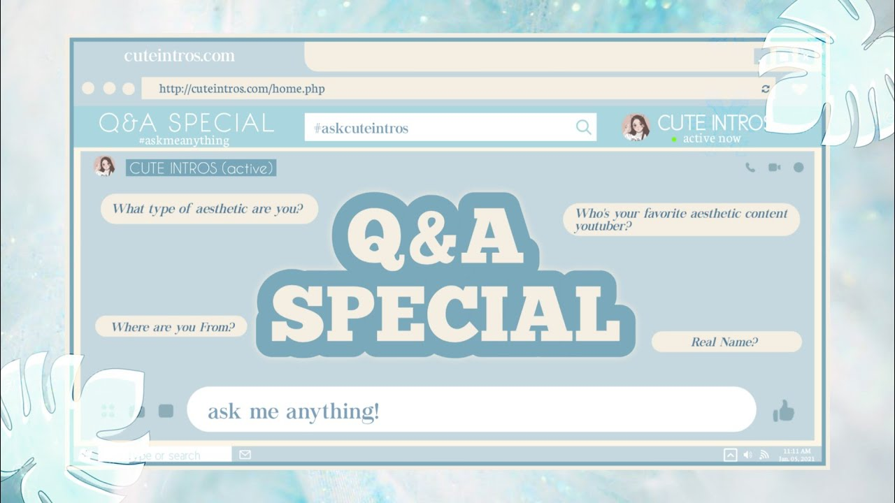 Q & A SPECIAL + FACE REVEAL!