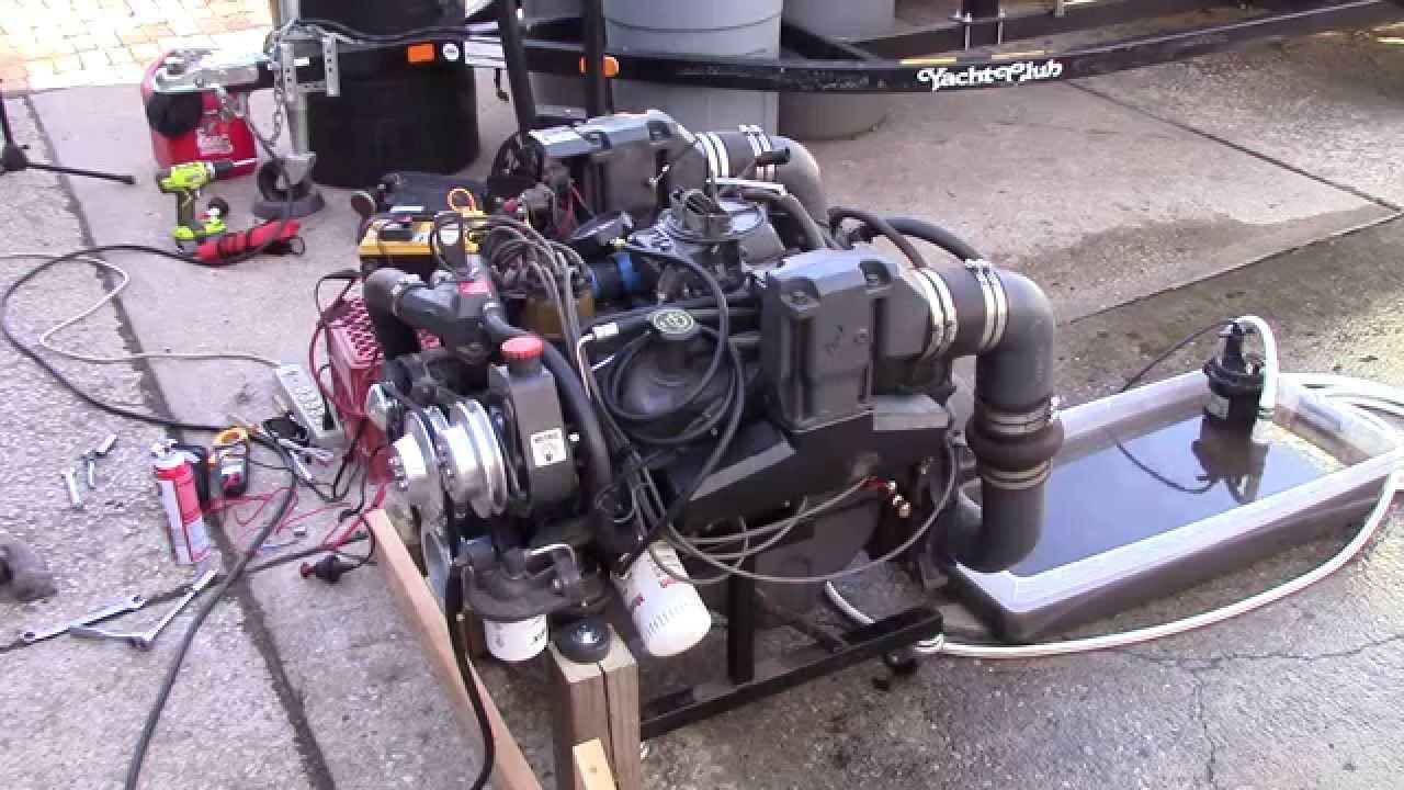 1992 omc marine 302 5 0l ford test run part 8 [ 1280 x 720 Pixel ]