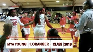 Mya Young Premium Highlights - Loranger 2019 G (Mississippi State commit)