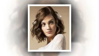 Модні жіночі весільні зачіски на коротке волосся