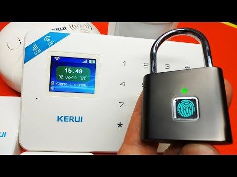 НАРОДНАЯ GSM Wi-Fi СИГНАЛИЗАЦИЯ KERUI W18 + МЕГА ЗАМОК!