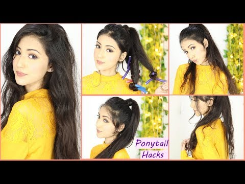 High Ponytail Hairstyle Hacks For Girls 2019 | Ponytail Hairstyle thumbnail