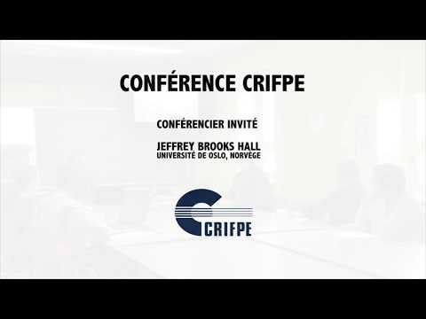 Conférence du CRIFPE - Jeffrey Brooks Hall, University of Oslo