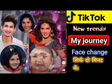 Tiktok New Trend | Face Change My Journey | Technicalmahatma