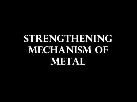 Strengthening Mechanism Of Metal
