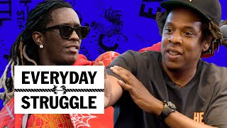 Dame Dash Bashes Jay-Z, Young Thug Says Wayne is Spoiled, Snoop on Nipsey & Pac | Everyday Struggle