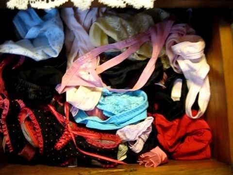 Sisters panty drawer