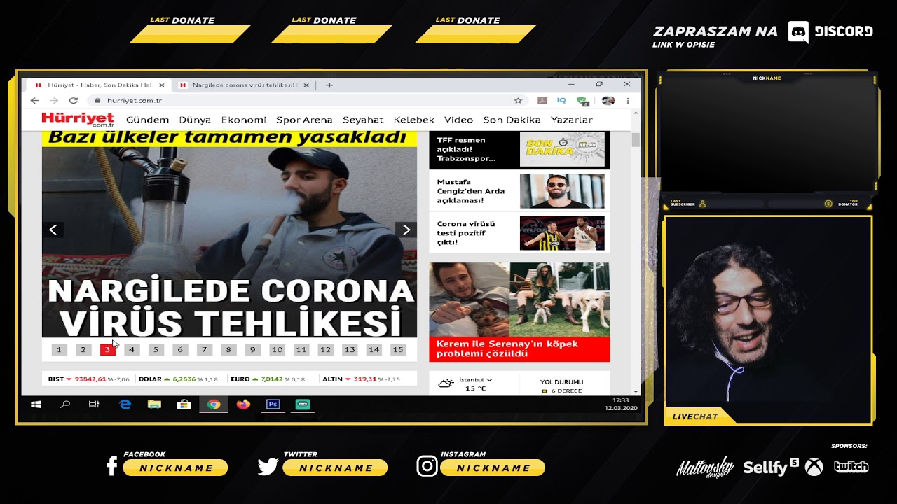 Türkiye ve Dünyada Son Dakika Corona Virüsü Haberleri