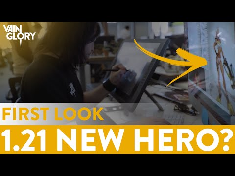 Vainglory    New Hero For 1.21 First Look *Leaked By SEMC*