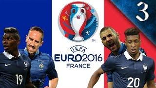 FIFA 16 - FRANCE EURO 2016 CAREER MODE EP. 3 - BICYCLE KICK EURO FINAL!