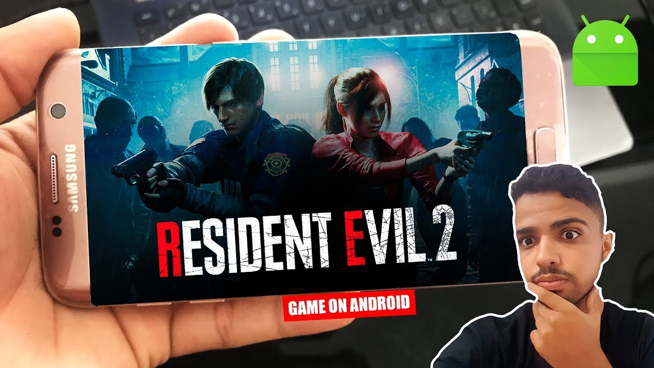 URGENTE! RESIDENT EVIL 2 REMAKE Para Android Download Apk+Obb!  #Smartphone #Android