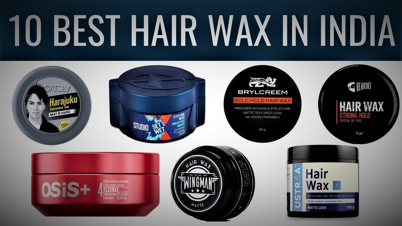 Really Cool 10 Best Hair Wax In India Best Selling Hair Wax For