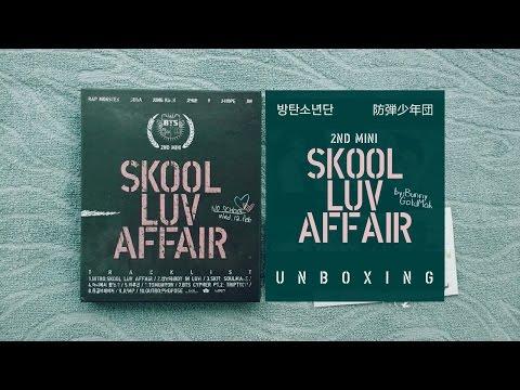(2016) Unboxing | Skool Luv Affair - BTS (방탄소년단) 2nd Mini Album