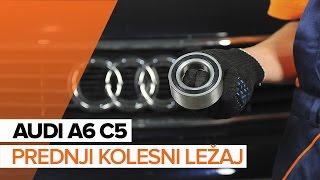Kako zamenjatiprednji kolesni ležajinaAUDI A6 C5 [VODIČ]