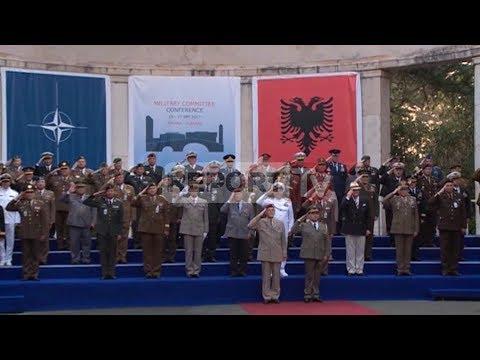 Report TV - Komiteti Ushtarak i NATO-s në Tiranë, vijnë 38 delegacione