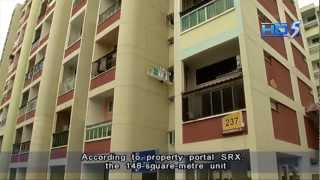 Record COV for Hougang executive maisonette Blk 237 - 25Oct2012