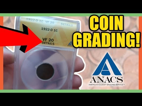 COIN GRADING WITH ANACS - HOW TO GET A COIN GRADED