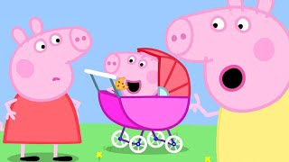 Peppa Pig Official Channel   George Pig Becomes a Baby Piggy