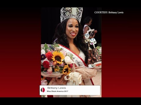 Brittany Lewis crowned 2017 Miss Black America
