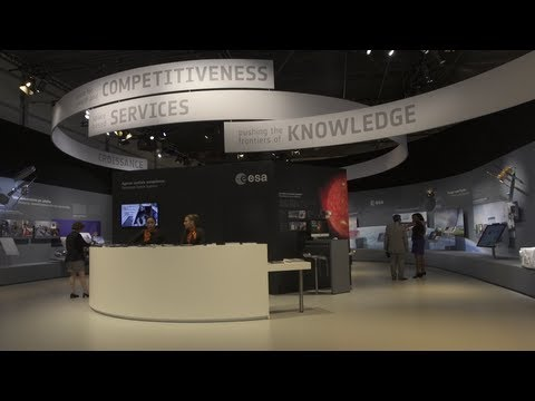 Visit ESA's Pavilion at the Paris Air and Space Show 2013