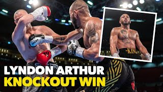 ABSOLUTELY VICIOUS! 😳 Lyndon 'King' Arthur destroys Andrzej Soldra in one round and moves to 15-0!
