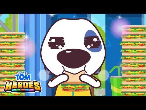 Talking Tom Heroes - Ultra Eating Championship (Episode 16) |