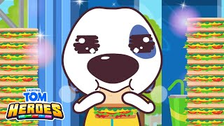 Talking Tom Heroes - Ultra Eating Championship (Episode 16)