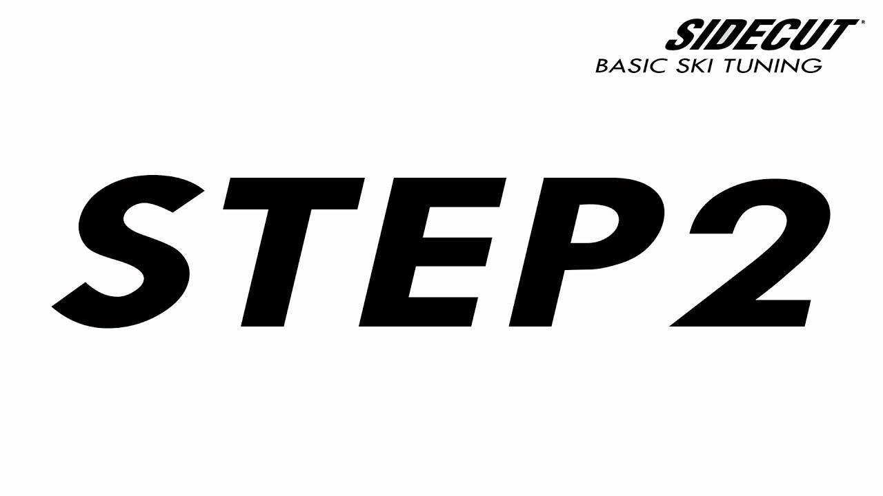 02 Ski Tuning Basic - step 2 Repairing Gouges