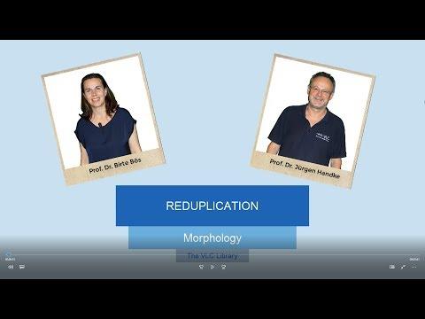 MOR107 - Reduplication