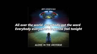ELO - All Over The World song with lyrics Album: Jeff Lynne's ELO A...