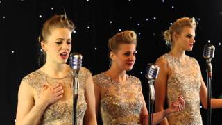 THE BOMBSHELLS - 1940'S Harmony Trio - At Last - Weddings and corporate entertainment