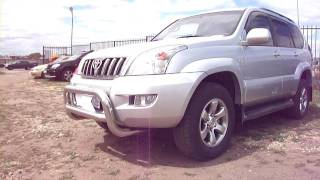 2008 Toyota Land Cruiser Prado 120. Start Up, Engine, and In Depth Tour.