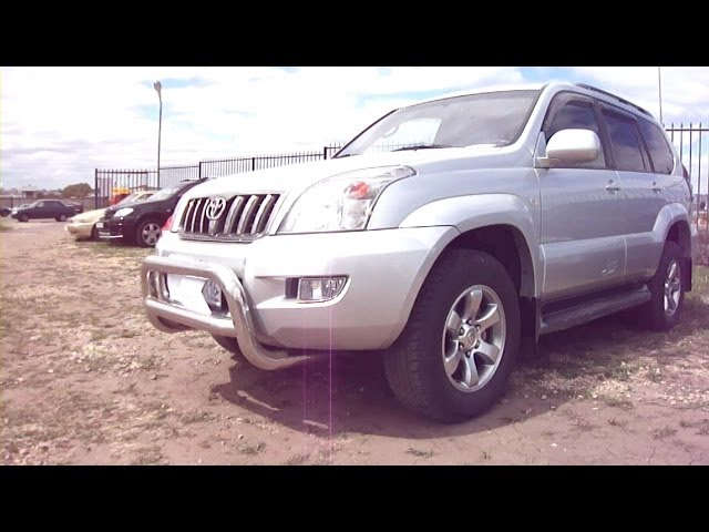 2008 Toyota Land Cruiser Prado 120  Start Up, Engine, and In Depth Tour
