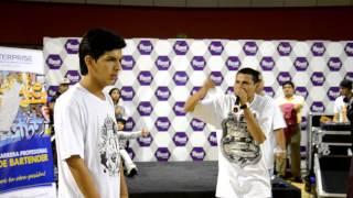 JINETE(LIMA) VS HENRY ROMERO(TRUILLO) || OCTAVOS DE FINAL || FESTIVAL TRUJILLO HIPHOP 2015