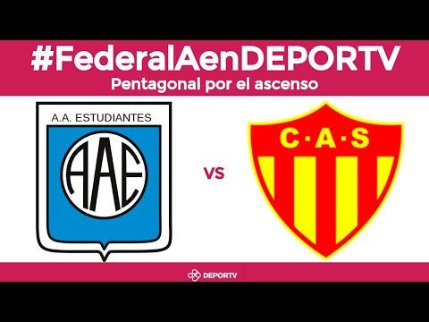 Estudiantes (Río Cuarto) vs. Sarmiento (Resistencia) - VIVO -  Pentagonal final #FederalAenDEPORTV