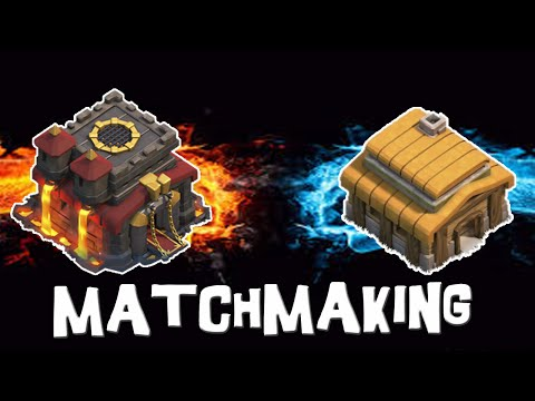 how matchmaking works in coc