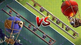 SKELETTBALLON vs BALLON!    Clash of Clans - Battle!    Meisterhütte 7