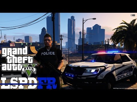 Realistic Vinewood Hills Patrol with Real Gas Mod GTA 5 LSPDFR Episode 74