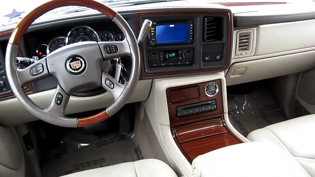 Image Gallery 2004 Escalade Interior