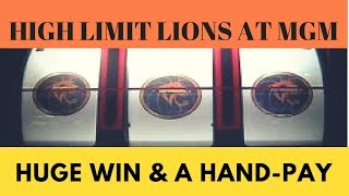 💥Huge Win & Jackpot Hand-Pay! Slot Play at MGM💥