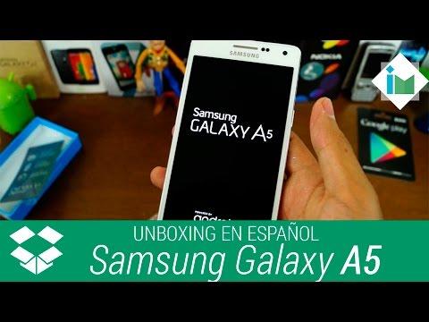 Samsung Galaxy A5 - Unboxing en español